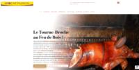 Agence SEO Besançon, Dijon, Paris, Lyon - Référencement naturel (SEO), cochon de lait sur un tournebroche.